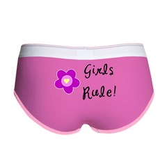 Girls Rule Women's Boy Brief