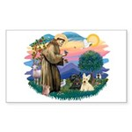 St Francis #2/ Scottys (2) Sticker (Rectangle)