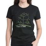 Plant A Tree Women's Dark T-Shirt
