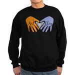 Art in Clay / Heart / Hands Sweatshirt (dark)