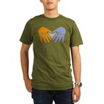Art in Clay / Heart / Hands Organic Men's T-Shirt