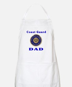 coast guard dad Apron