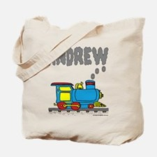 Andrew Train Tote Bag