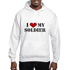 I Love My Soldier Jumper Hoody