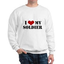 I Love My Soldier Sweater