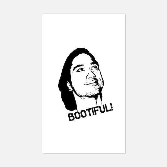 Bootiful! Sticker (Rectangle)