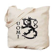 Suomi Coat of Arms Tote Bag