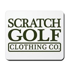 Scratch Golf Clothing Co. Mousepad