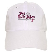 Dice Rollin' Babes for a Cure Baseball Cap