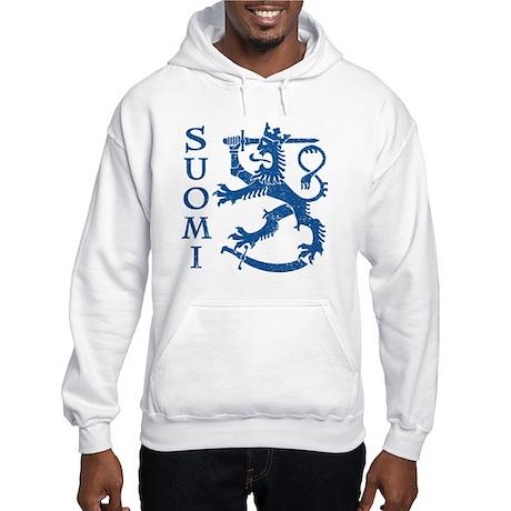 Suomi Coat of Arms Hooded Sweatshirt