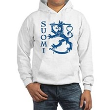 Suomi Coat of Arms Hoodie