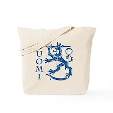 Suomi Coat of Arms Tote Bag