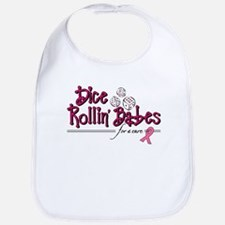 Dice Rollin' Babes for a Cure Bib