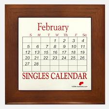 Singles Calendar Framed Tile