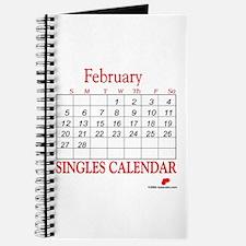 Singles Calendar Journal