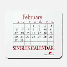 Singles Calendar Mousepad