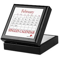 Singles Calendar Keepsake Box