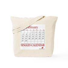 Singles Calendar Tote Bag
