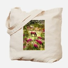 Horse in the Summer Tote Bag
