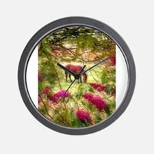 Horse in the Summer Wall Clock