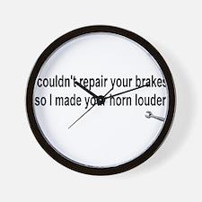 I couldn't repair ...  Wall Clock