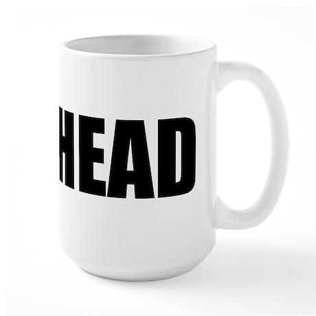 MEATHEAD (Bold) Large Mug