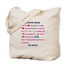 A Mother's Recipe Tote Bag