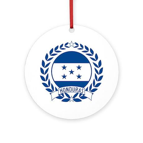 Honduras Wreath Ornament (Round)