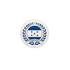 Honduras Wreath Mini Button