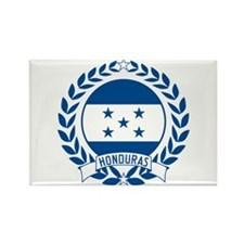 Honduras Wreath Rectangle Magnet
