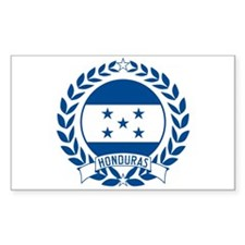 Honduras Wreath Decal