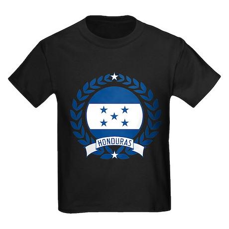 Honduras Wreath Kids Dark T-Shirt