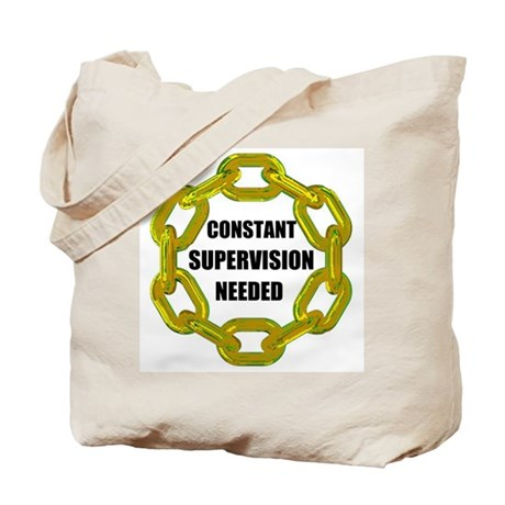CHAINS NEEDED Tote Bag