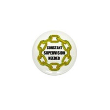 CHAINS NEEDED Mini Button (100 pack)