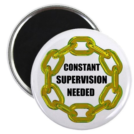 """CHAINS NEEDED 2.25"""" Magnet (100 pack)"""