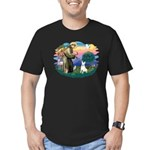 St Francis #2/ Bull T (#4) Men's Fitted T-Shirt (d
