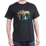 St Francis #2/ Bull T (#4) Dark T-Shirt