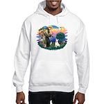 St Francis #2/ Bull T (#4) Hooded Sweatshirt