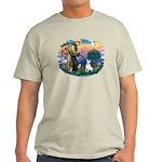 St Francis #2/ Bull T (#4) Light T-Shirt