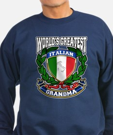 World's Greatest Italian Grandma Sweatshirt