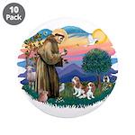 St Francis #2/ Cavalier (2 bl) 3.5