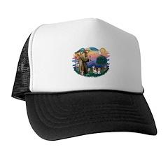 St Francis #2/ Cavalier (2 bl) Trucker Hat