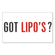 Got Lipo's ? Decal