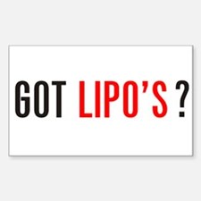 Got Lipo's ? Decal
