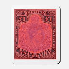 Bermuda KGVI One Pound Mousepad
