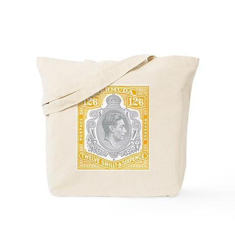 Bermuda KGVI 12s6d Tote Bag
