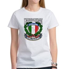 World's Greatest Italian Girlfriend Tee