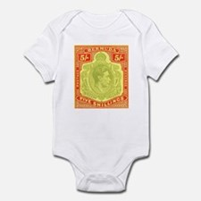 Bermuda KGVI 5s Infant Bodysuit