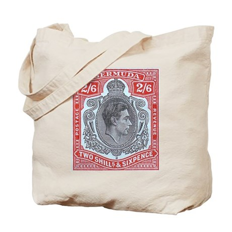 Bermuda KGVI 2s6d Tote Bag