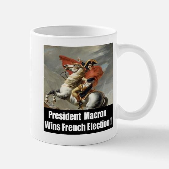 President Macron Wins French Election Mugs
